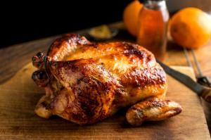Цыпленок на углях